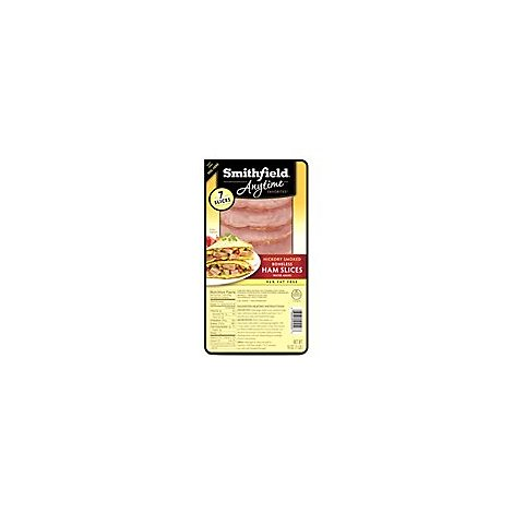 Smithfield Boneless Ham Slices Fp - 16 Oz