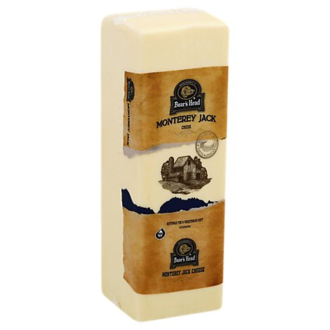 Boars Head Cheese Monterey Jack Fresh Slice - 0.50 LB