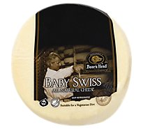 Boars Head Cheese Swiss Baby Swiss Fresh Slice - 1.00 LB