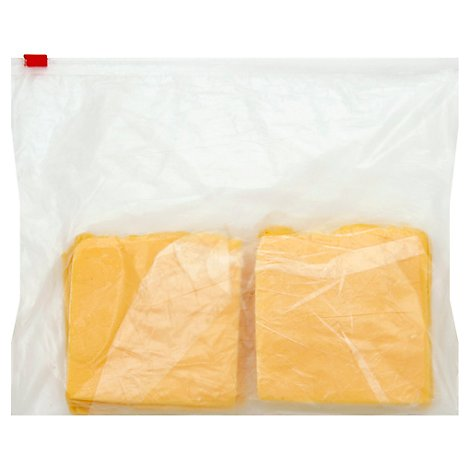 Cheese American Sliced - 0.50 LB