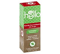 Hello Tpaste Kid Watermelon - 4.2 Oz