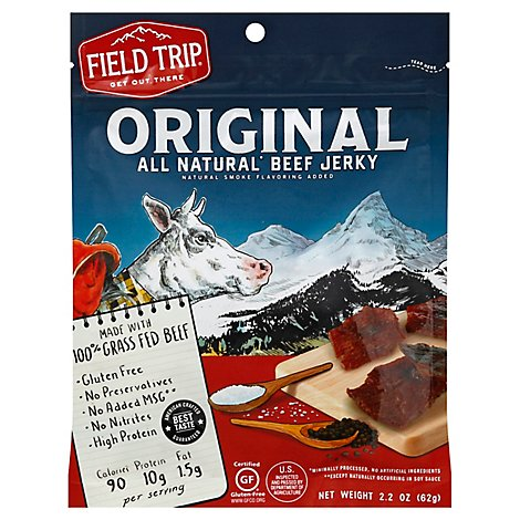 Field Trip Beef Jerky Original - 2.2 Oz