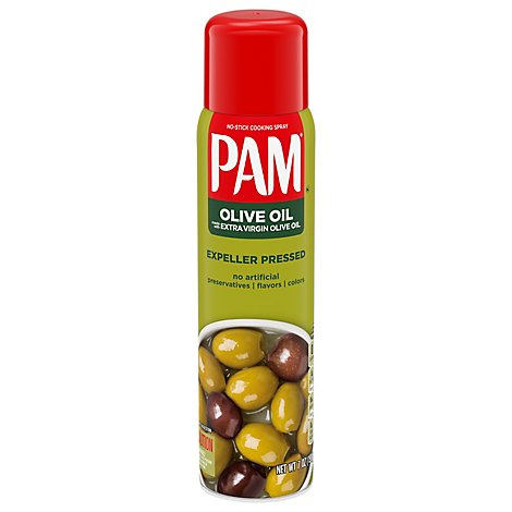 PAM Cooking Spray Olive Oil Purley Superior No Stick - 7 Oz