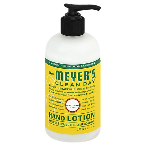 Mrs. Meyers Clean Day Hand Lotion Honeysuckle Scent - 12 Fl. Oz.