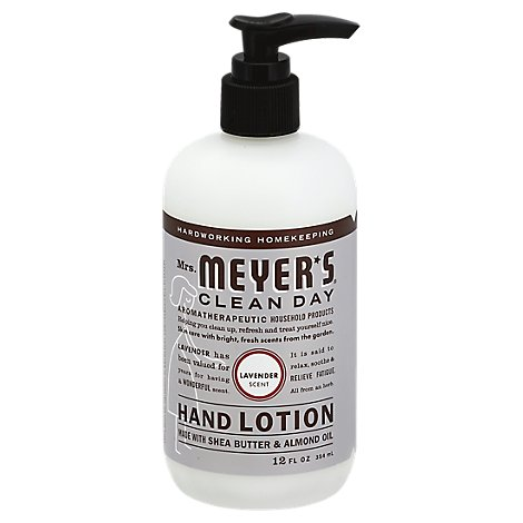 Mrs. Meyers Clean Day Hand Lotion Lavender Scent - 12.5 Fl. Oz.