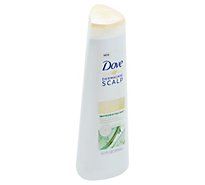 Dove Dermacare Scalp Shampoo & Conditioner 2 in 1 Anti Dandruff Invigorating Mint - 12 Fl. Oz.