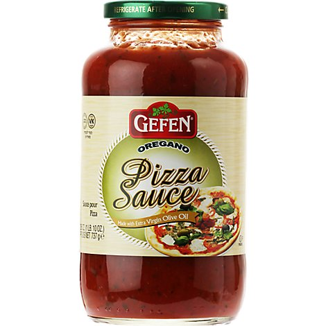 Gefen Sauce Pizza Oregano Made With Extra Virgin Olive Oil - 26 Oz