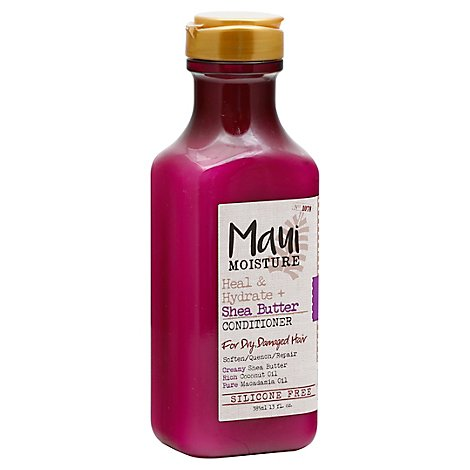 Maui Moisture Conditioner Heal & Hydrate + Shea Butter for Dry Damaged Hair - 13 Fl. Oz.