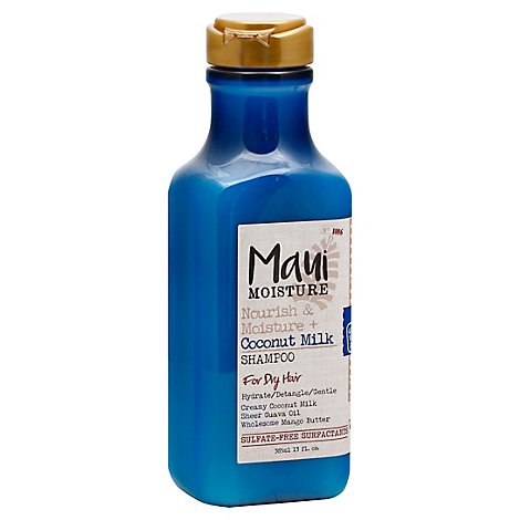 Maui Moisture Shampoo Nourish & Moisture Coconut Milk For Dry Hair - 13 Fl. Oz.