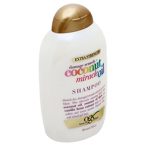 OGX Shampoo Extra Strength Coconut Miracle Oil - 13 Fl. Oz.