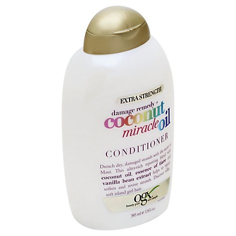 OGX Conditioner Coconut Miracle Oil Damage Remedy Extra Strength - 13 Fl. Oz.