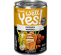 Campbells Well Yes! Soup Chicken Noodle Can - 16.2 Oz