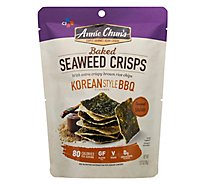 Annie Chuns Seaweed Snacks Roasted Koren Style BBQ Flavored - 1.27 Oz