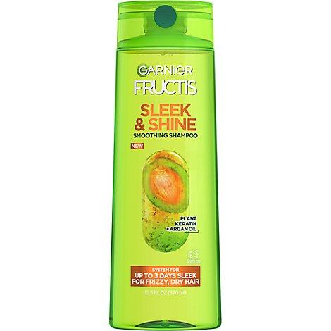 Garnier Fructis Sleek Shine Shampoo With Argan Oil 12 5 Fl Oz Safeway