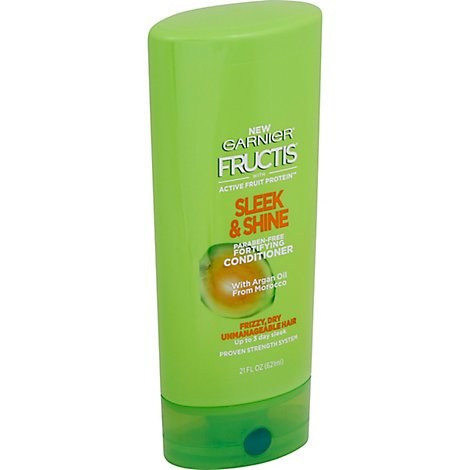 Garnier Fructis Sleek & Shine Conditioner With Argan Oil - 21 Fl. Oz.