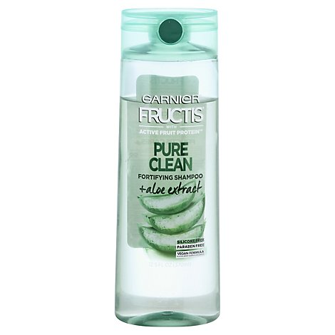 Garnier Fructis Pure Clean Shampoo Silicon-Free With Citrus Extract - 12.5 Fl. Oz.