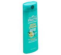 Garnier Fructis Shampoo Grow Strong With Apple Extract & Ceramide - 12.5 Fl. Oz.