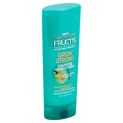 Garnier Fructis Grow Strong Conditioner With Apple Extract & Ceramide - 12 Fl. Oz.