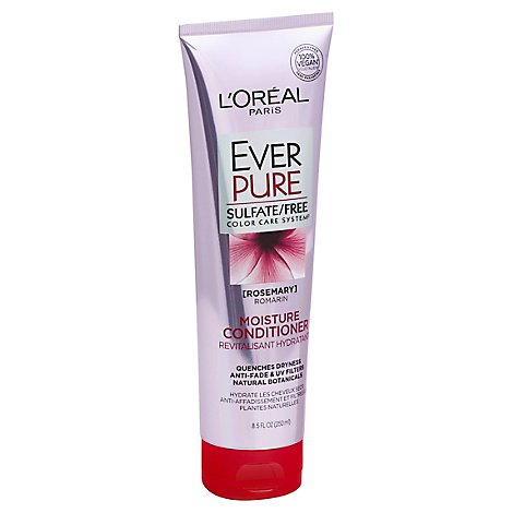LOreal Paris Ever Pure Conditioner Moisture Color Care System Rosemary - 8.5 Fl. Oz.