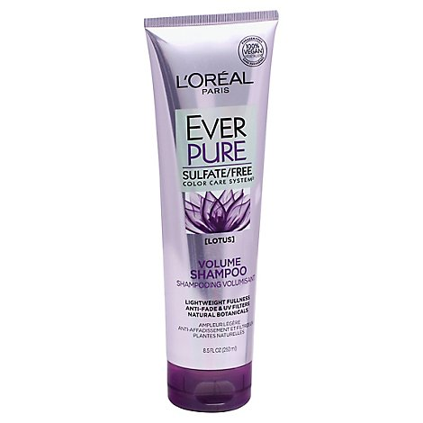 LOreal EverPure Shampoo Volume Lotus - 8.5 Fl. Oz.