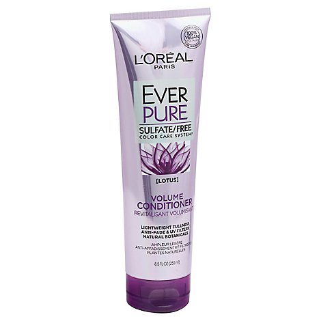 LOreal Paris Ever Pure Conditioner Volume Color Care System Lotus - 8.5 Fl. Oz.