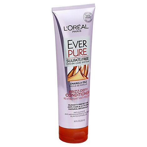 LOreal EverPure Conditioner Marula Oil Frizz-Defy - 8.5 Fl. Oz.