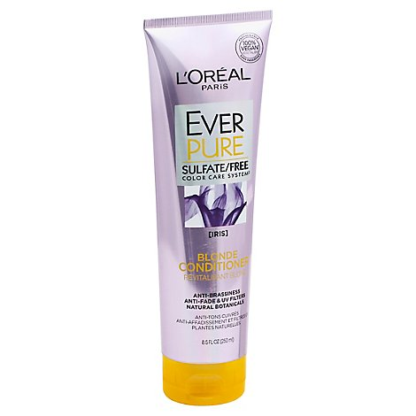 LOreal EverPure Conditioner Blonde Iris - 8.5 Fl. Oz.