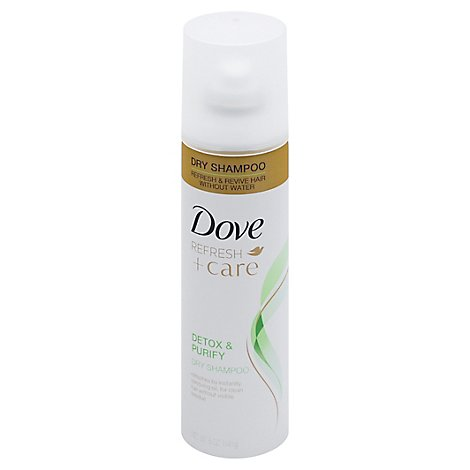 Dove Care Between Washes Dry Shampoo Detox & Purify - 5 Oz