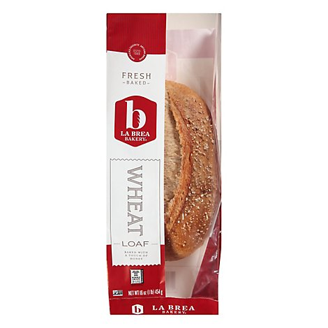 La Brea Bakery Wheat Loaf Bread - 16 Oz.