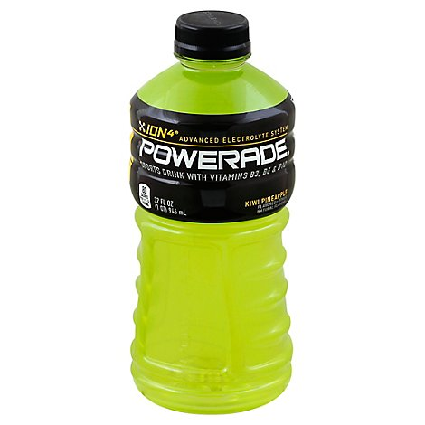 POWERADE Sports Drink Electrolyte Enhanced Kiwi Pineapple - 32 Fl. Oz.