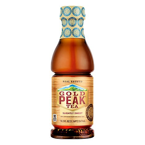 Gold Peak Tea Slightly Sweet - 18.5 Fl. Oz.