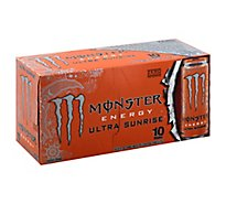 Monster Energy Drink Zero Sugar Ultra Sunrise - 10-16 Fl. Oz.