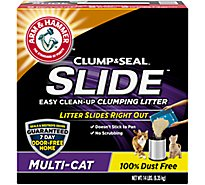 ARM & HAMMER Slide Clumping Litter Mulit Cat Cat Easy Clean Up - 14 Lb