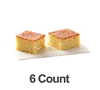 Bakery Cornbread 6 Count - Each