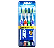 Oral-B Bacteria Blast Toothbrush Soft - 4 Count