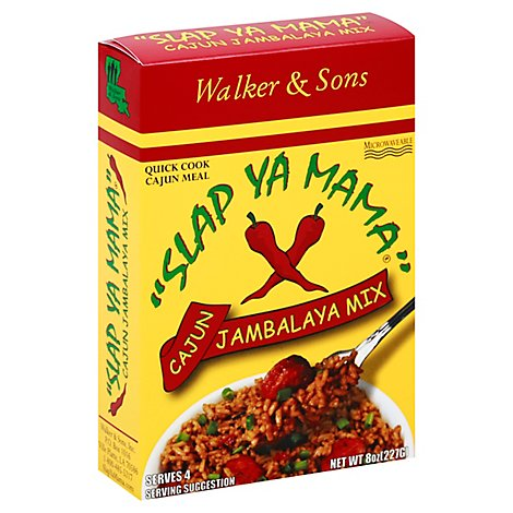 Slap Ya Mama Jambalaya Mix Cajun Box - 8 Oz