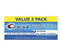 Crest Pro Health Toothpaste Whitening Gel - 2-4.6 Oz