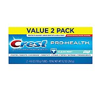 Crest Pro Health Toothpaste Clean Mint Paste - 2-4.6 Oz