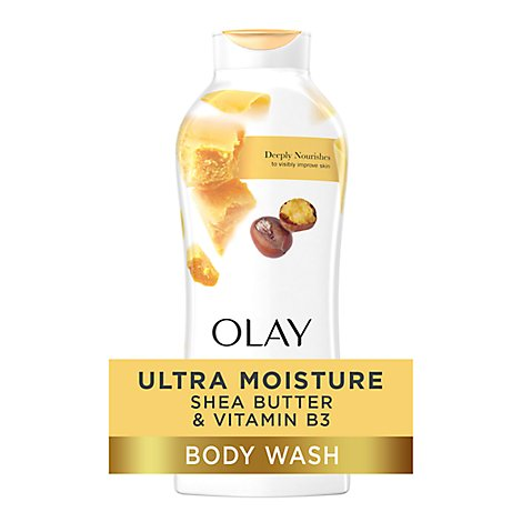 Olay Ultra Moisture Body Wash Shea Butter - 22 Fl. Oz.