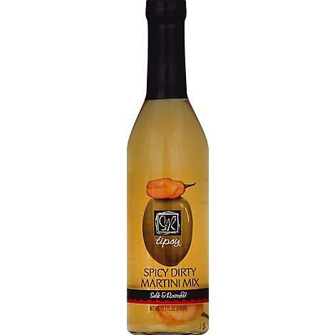 Tipsy Sable & Rosenfeld Juice Spicy Dirty Martini - 12.7 Fl. Oz.