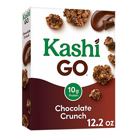 Kashi GO Breakfast Cereal Chocolate Crunch - 12.2 Oz