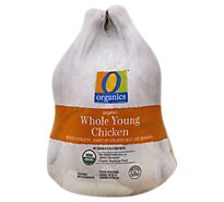 O Organics Organic Chicken Whole Bag Fryer - 5.00 LB