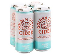 Golden State Mighty Dry Hard Cider In Cans - 4-16 Fl. Oz.