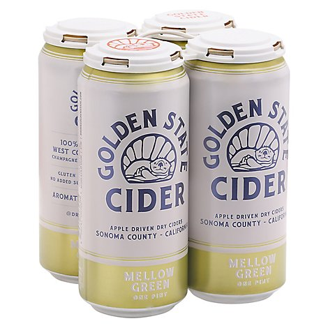 Golden State Mighty Hops Hard Cider In Cans - 4-16 Fl. Oz.