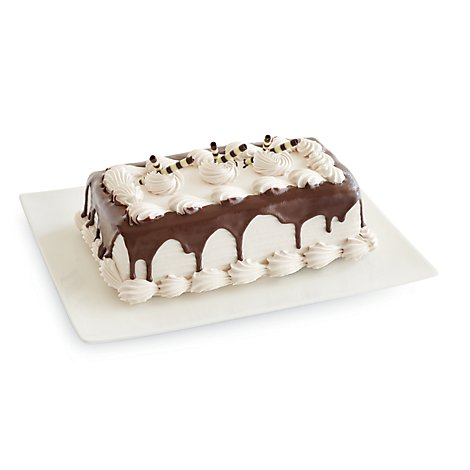 Bakery Cake Pavilions 10 Inch 2 Layer Black & White - Each
