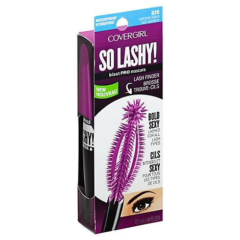 COVERGIRL So Lashy! BlastPRO Mascara Waterproof Extreme Black - 0.12 Oz
