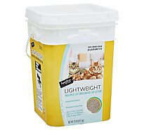 Signature Pet Care Cat Litter Lightweight Clumping Uncented Multiple Cat - 20 Lb