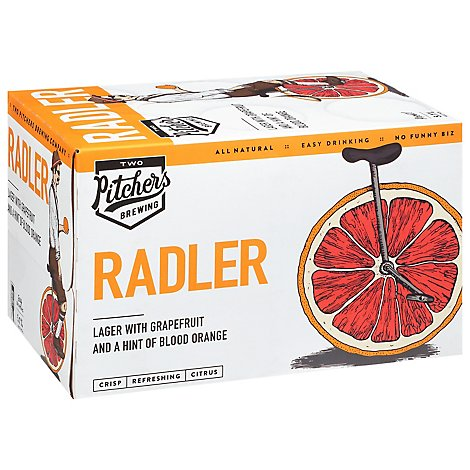 Tw Pitchers Radler In Cans - 6-12 Fl. Oz.
