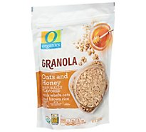 O Organics Organic Granola Oats & Honey Flavored - 13 Oz