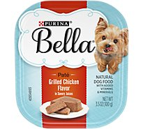 Bella Pampered Meals Dog Food Grilled Chicken Flavor in Savory Juices - 3.5 Oz